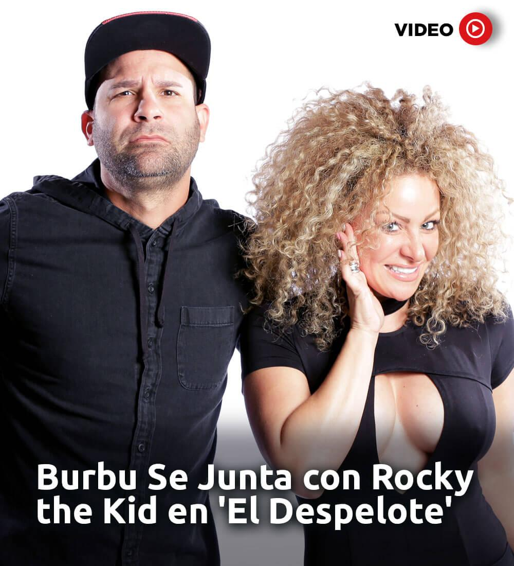 Burbu Joins Rocky The Kid For The Show 'El Despelote'